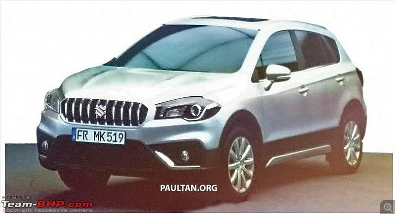 2016 Suzuki S-Cross facelift leaked. EDIT: Spotted testing in India!-scross1.jpg
