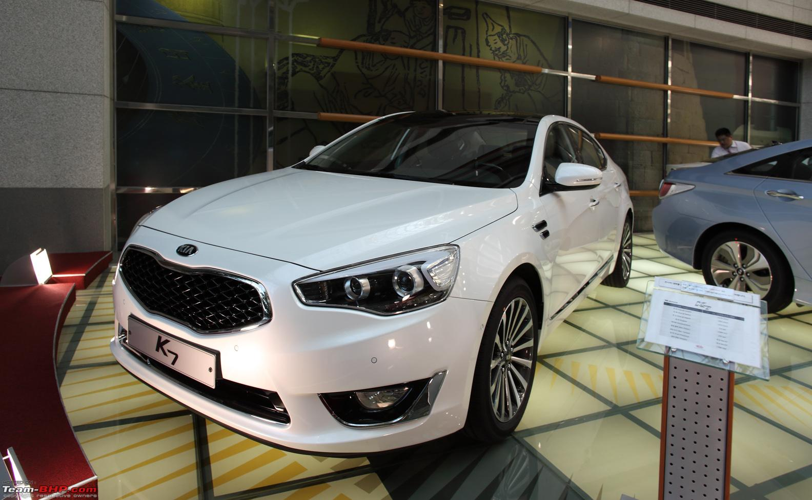 Kia Motors Coming To India Team Bhp