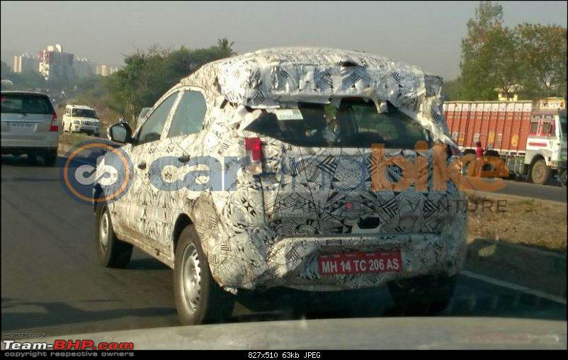 The Tata Nexon, now launched at Rs. 5.85 lakhs-tatanexonrearspiedcamouflaged.jpg