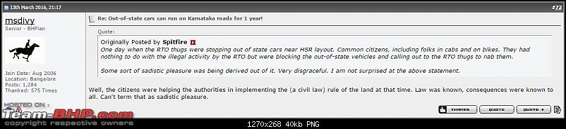 Out-of-state cars can run on Karnataka roads for 1 year!-moron.png