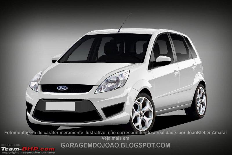 Attached Images & SCOOP !! Fordu0027s new small car for India (with Spy Pics). Update ... markmcfarlin.com