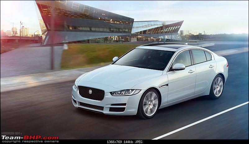 Jaguar XE diesel imported for homologation. EDIT: Launched at Rs. 38 ...