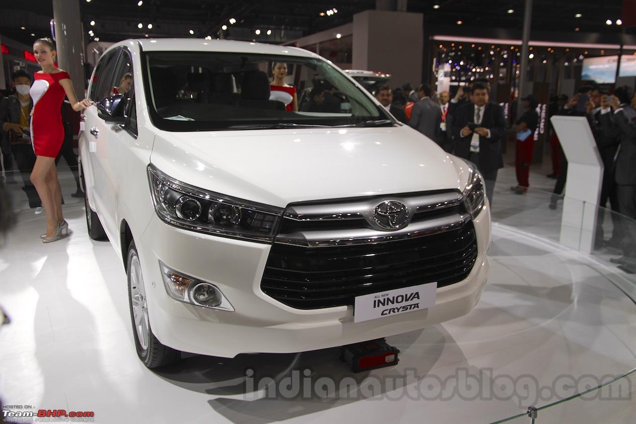 Toyota Innova Crysta @ Auto Expo 2016 - Page 10 - Team-BHP