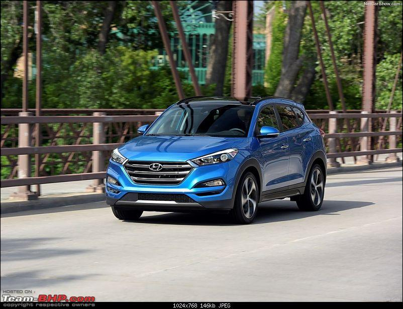 The 2016 Hyundai Tucson. EDIT: Launched-hyundaitucson201610240a.jpg