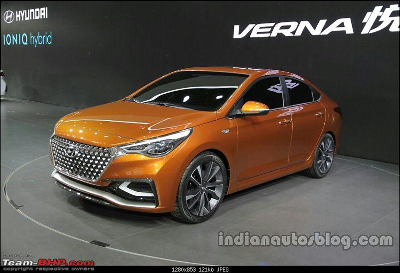 Hyundai India re-imports the next-gen 2017 Verna! EDIT: Unveiled in China-hyundaivernaconceptfrontquarterattheautochina2016live.jpg