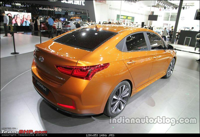 Hyundai India re-imports the next-gen 2017 Verna! EDIT: Unveiled in China-hyundaivernaconceptrearattheautochina2016live.jpg