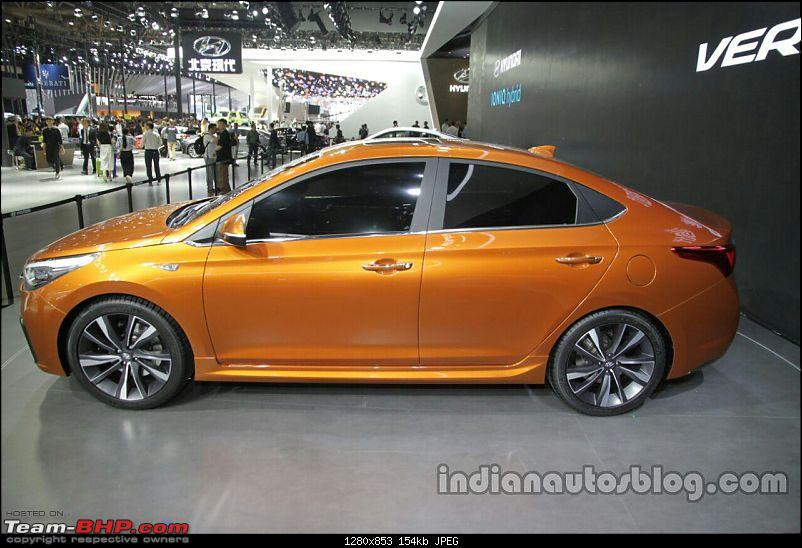Hyundai India re-imports the next-gen 2017 Verna! EDIT: Unveiled in China-hyundaivernaconceptsideattheautochina2016live.jpg
