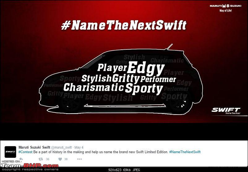 Maruti Swift: Yet another Limited Edition coming. Naming contest announced!-leswift2.jpg