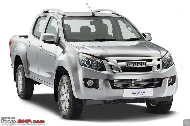 Isuzu starts production at Andhra Pradesh. Rolls out D-Max V-Cross @ 12.49 lakhs-isuzu-dmax-vcross-indias-first-adventure-utility-vehicle-titanium-silver.jpg
