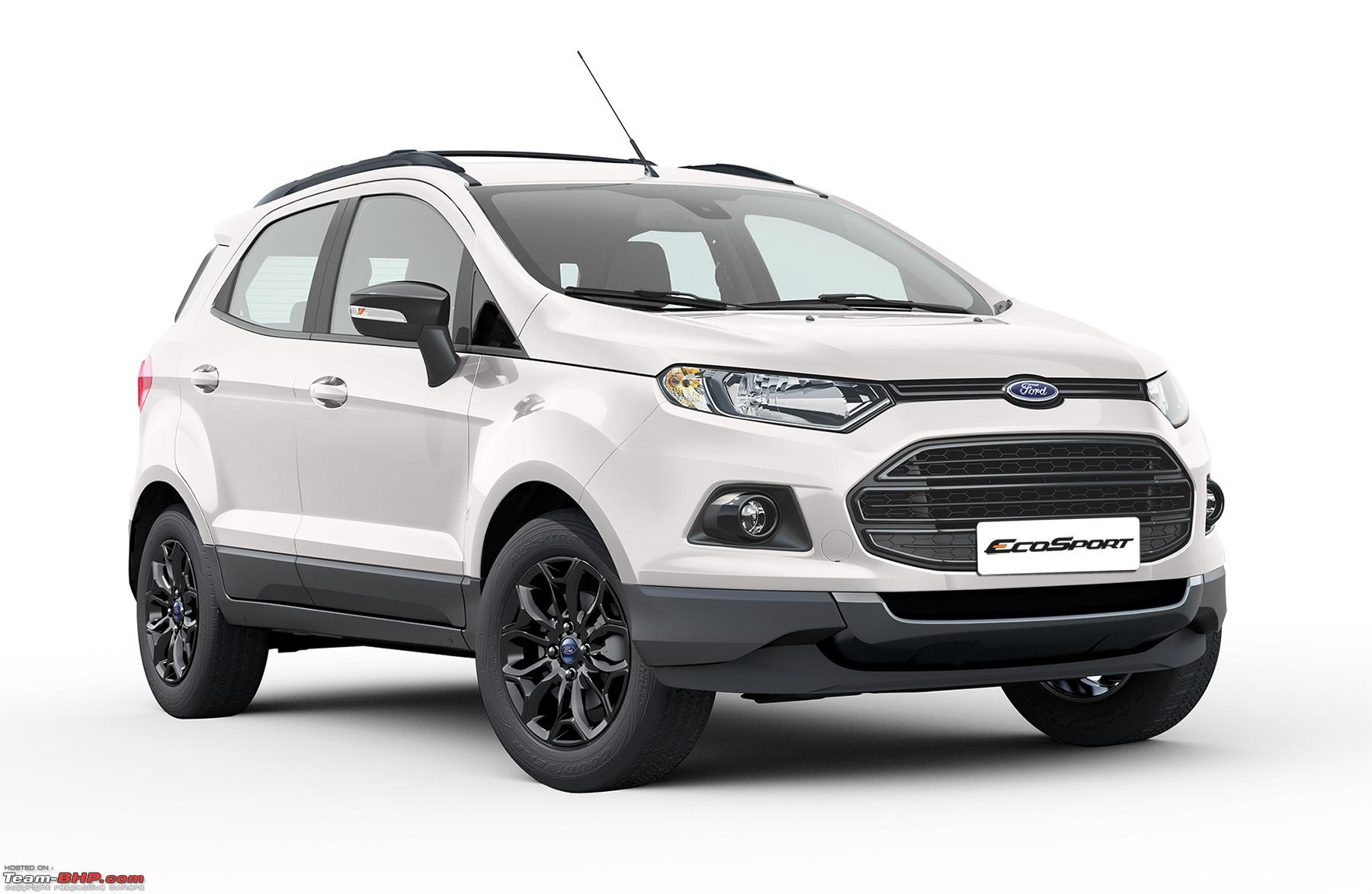 Ford Launches Ecosport Black Edition At Rs 8 58 Lakh