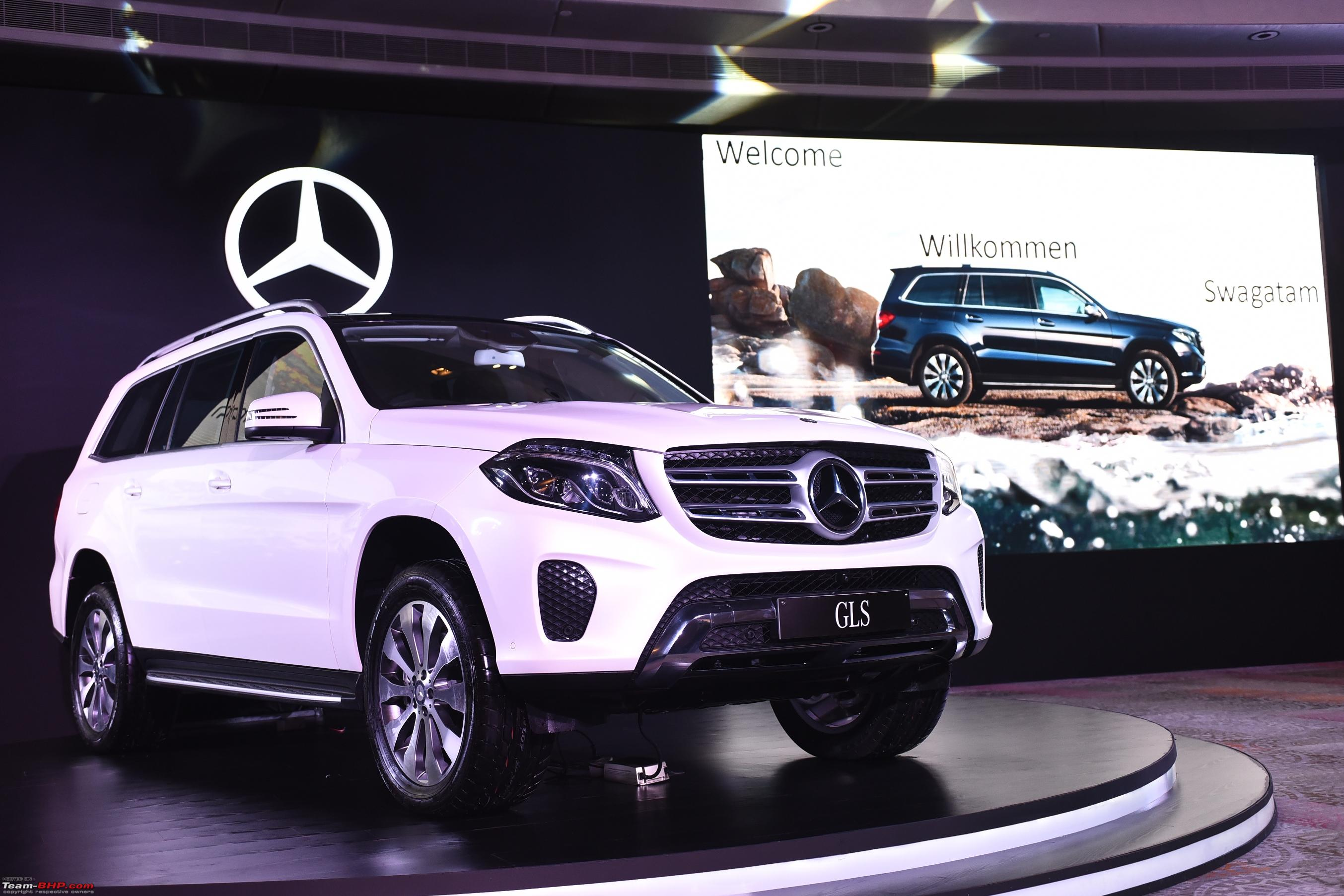 mercedes-benz to launch gls-class in india on may 18, 2016 - team-bhp