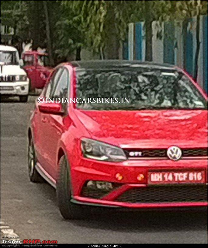 Volkswagen Polo GTI @ Auto Expo 2016-pologtispied.jpg