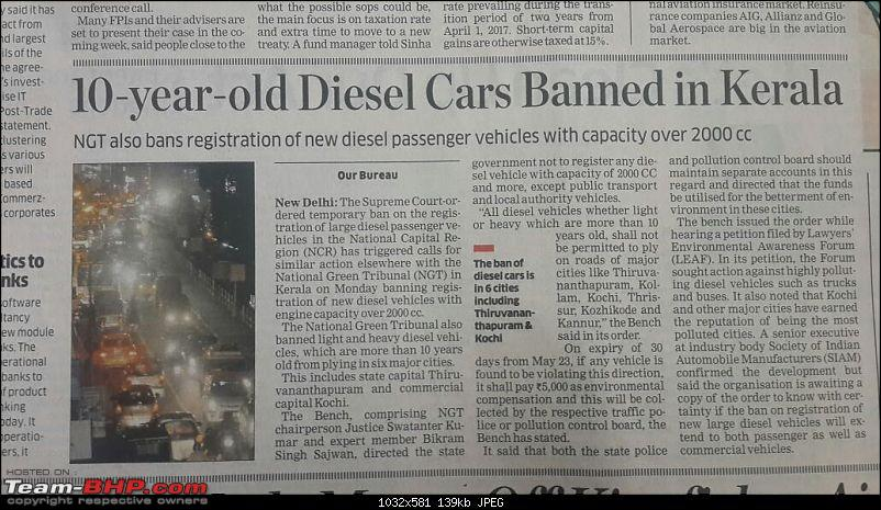 NGT bans 10+ year old diesel vehicles in Kerala. EDIT: High Court stays ban-img20160524wa0008.jpg
