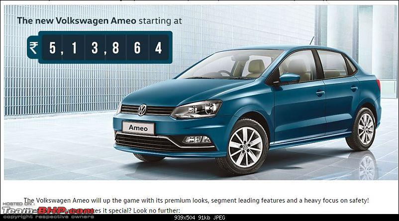 Volkswagen Ameo @ Auto Expo 2016. EDIT: Starts at Rs. 5.14 lakhs!-capture.jpg