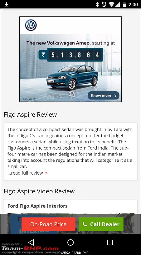Volkswagen Ameo @ Auto Expo 2016. EDIT: Starts at Rs. 5.14 lakhs!-screenshot_20160605140057.png