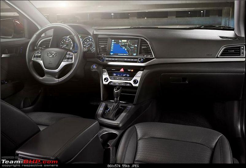The 6th-gen Hyundai Elantra. EDIT: Launched at 12.99 lakh-2017hyundaielantra38.jpg