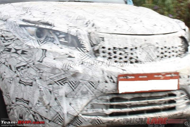Tata's compact SUV, the Nexon-tatanexonspiedwithprojectorheadlamps.jpg