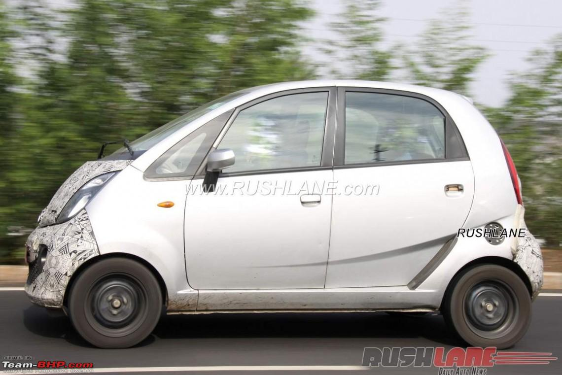 Rumour is tata testing an electric nano team bhp for Tata motors electric car