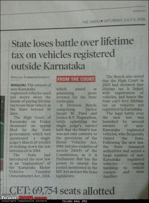 Out-of-state cars can run on Karnataka roads for 1 year!-toi-2.jpg