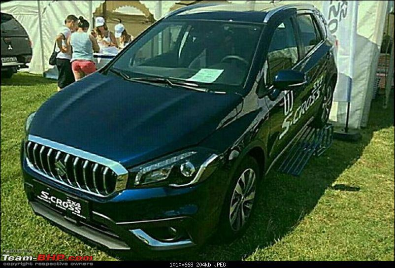 2016 Suzuki S-Cross facelift leaked. EDIT: Launched at Rs. 8.49 lakh-suzuki20s20cross204.jpg