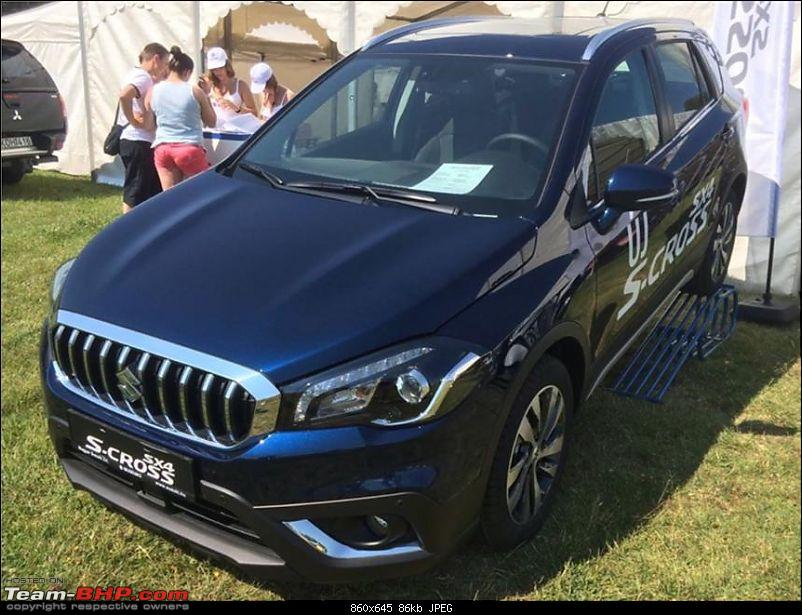 2016 Suzuki S-Cross facelift leaked. EDIT: Launched at Rs. 8.49 lakh-cross.jpg