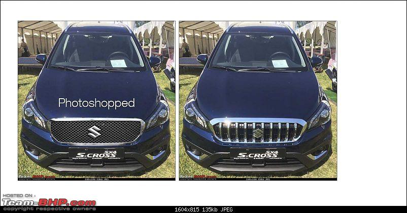 2016 Suzuki S-Cross facelift leaked. EDIT: Launched at Rs. 8.49 lakh-photoshopped.jpg