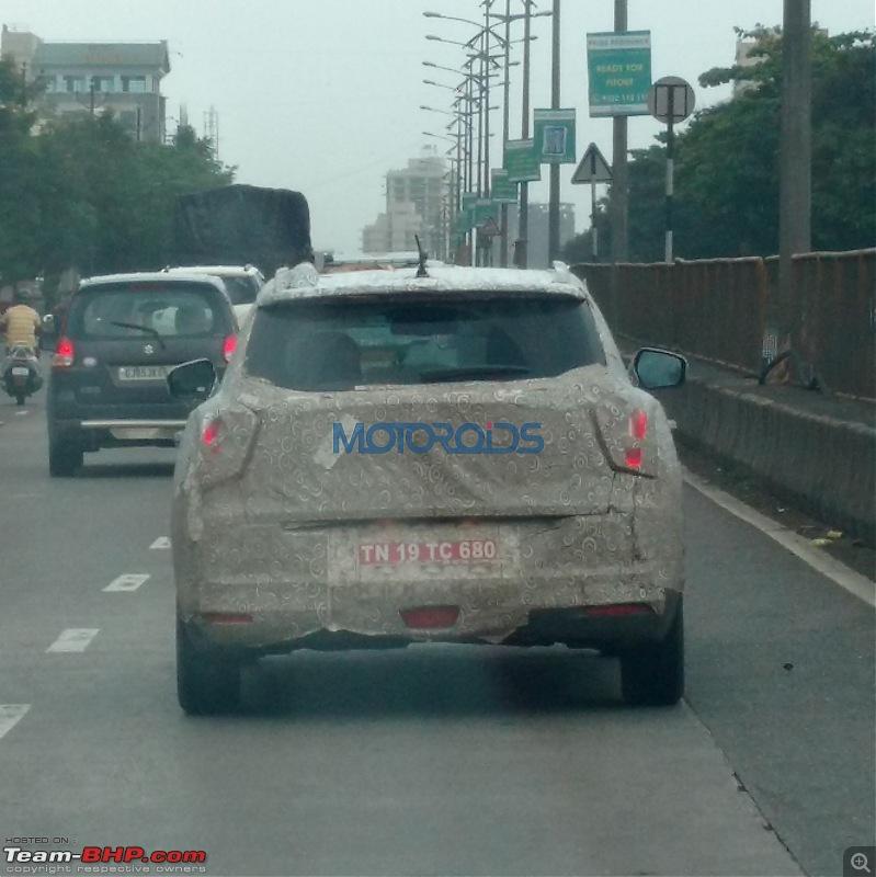 Mahindra starts testing Ssangyong Tivoli in India-ssangyongtivolispiedyetagain2.jpg
