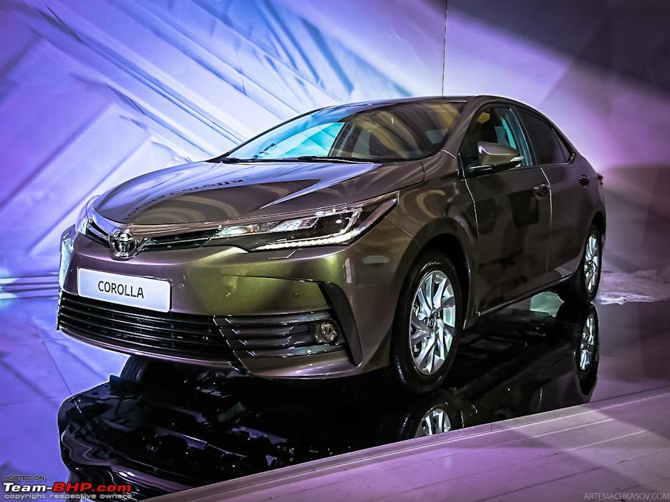 Toyota Corolla Altis Facelift Edit Launched At Rs 15 88