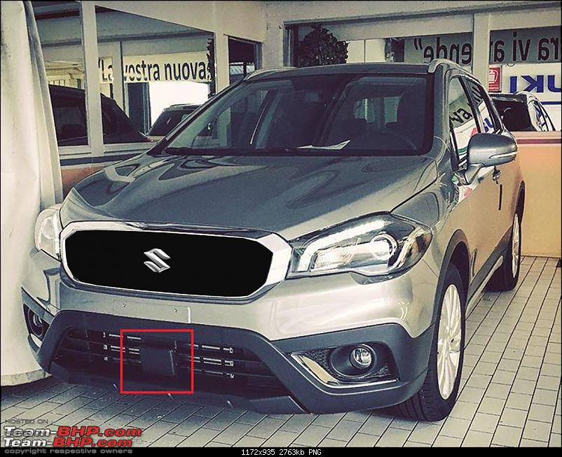 2016 Suzuki S-Cross facelift leaked. EDIT: Revealed in Italy-picture2.png