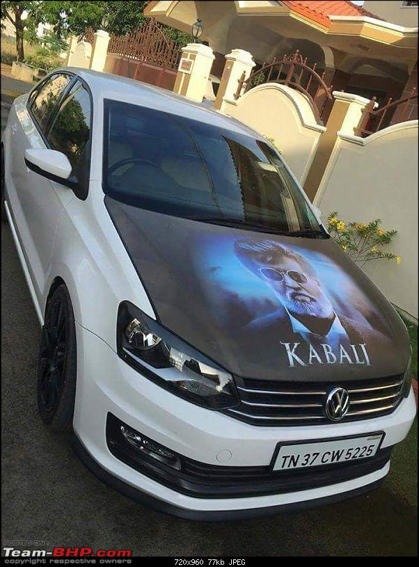 Maruti Swift and other cars with 'Kabali' artwork-kabalirajinikanthfancardesign.jpg