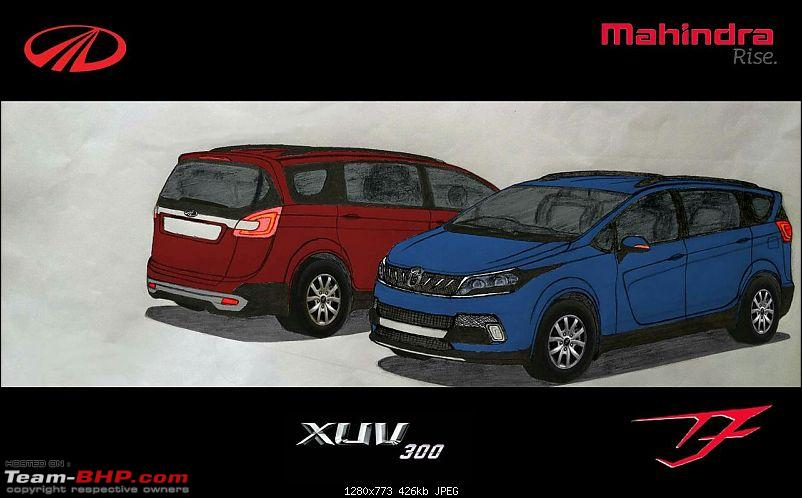 The Mahindra Marazzo MPV. EDIT: Now launched-imageuploadedbyteambhp1469359391.321188.jpg