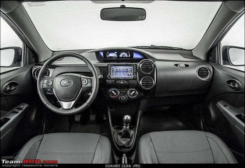 2016 Toyota Etios Facelift. Now launched at 6.43 lakh-etiosplatinumfaceliftdashboard.jpg