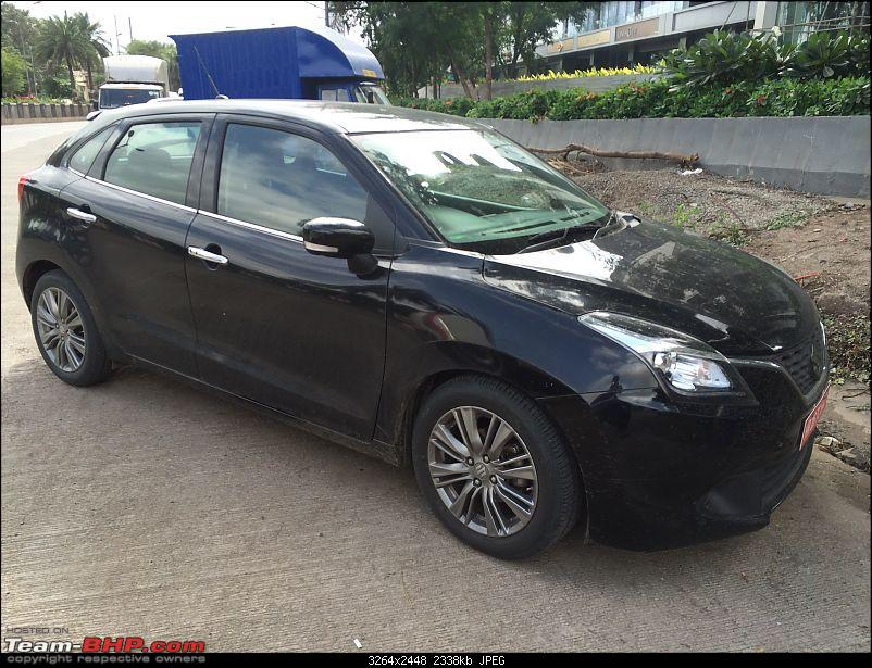 The Maruti Baleno RS: 1.0L turbo-petrol engine. EDIT: Launched at Rs. 8.69 lakh-img_6020.jpg