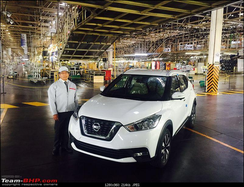 Nissan working on compact SUV to take on Ford EcoSport. Update: Named Kicks-nissankicksproductionbeginsinmexico.jpeg