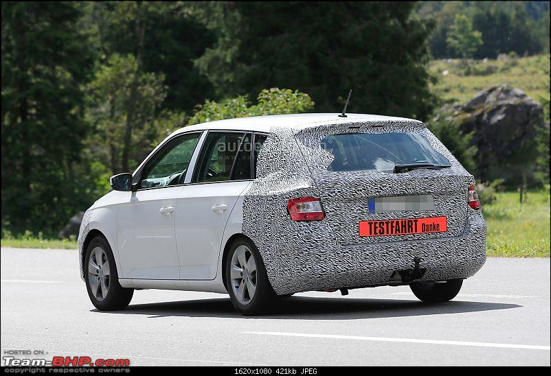 Next-gen Skoda Fabia: Will it come to India?-spyshots2017skodafabiafacelifthasnoseradarsuperbgrille_7.jpg