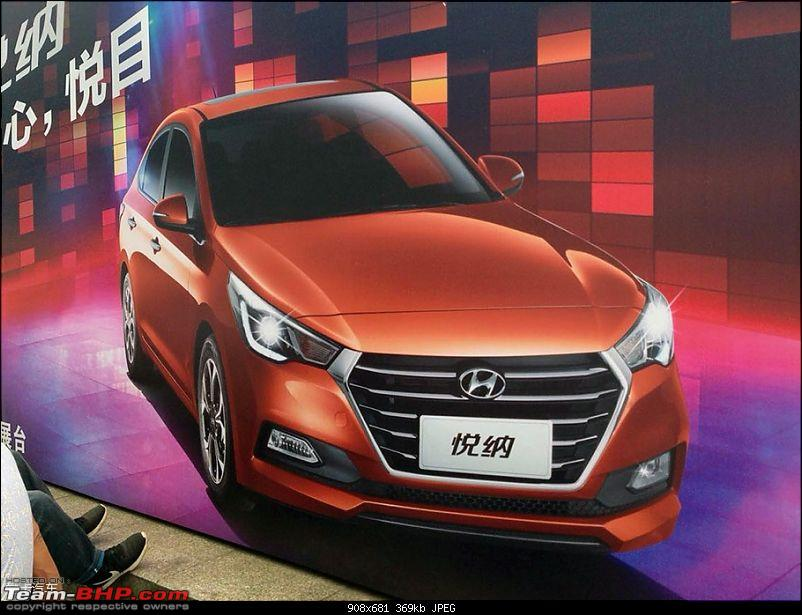 Hyundai India re-imports the next-gen 2017 Verna! EDIT: Unveiled in China-2017hyundaivernafrontorangerevealed.jpg