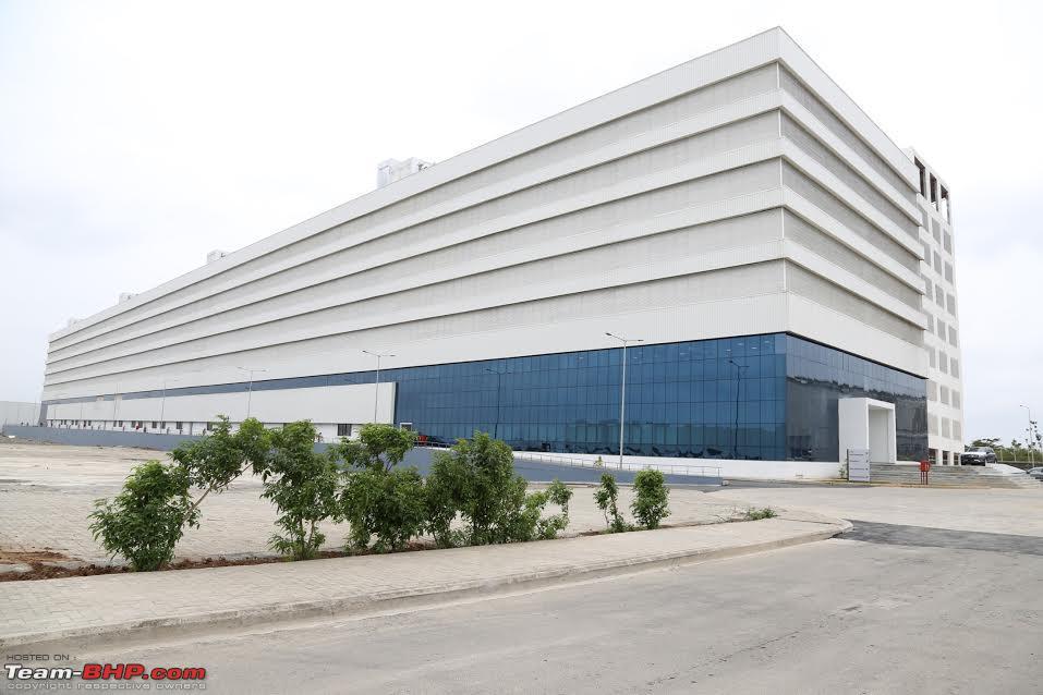 Mercedes opens parts warehouse training centre in chakan for Mercedes benz parts warehouse