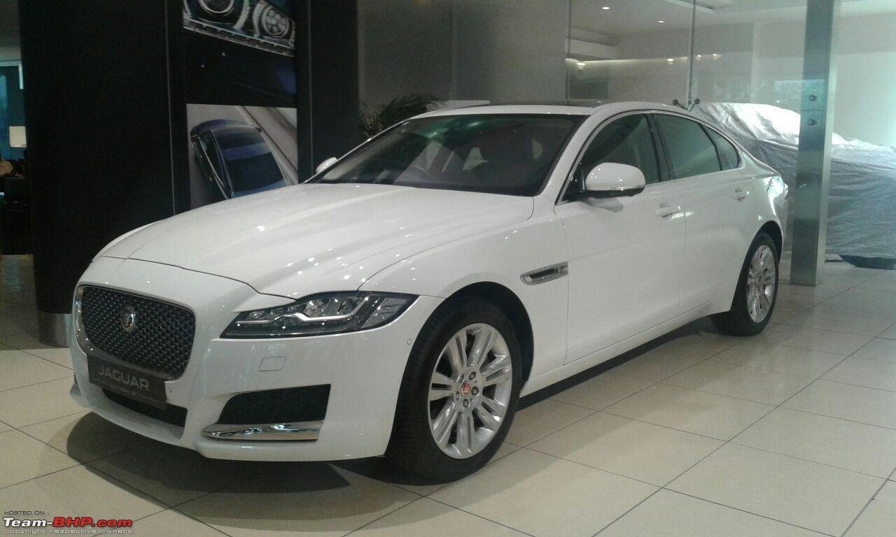 all new jaguar xf launched at lakhs team bhp. Black Bedroom Furniture Sets. Home Design Ideas