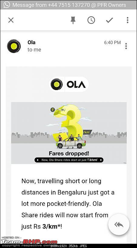 The Indian Taxi Revolution - Uber, Ola, TaxiforSure, Meru etc.-screenshot_20160922191121717.jpeg