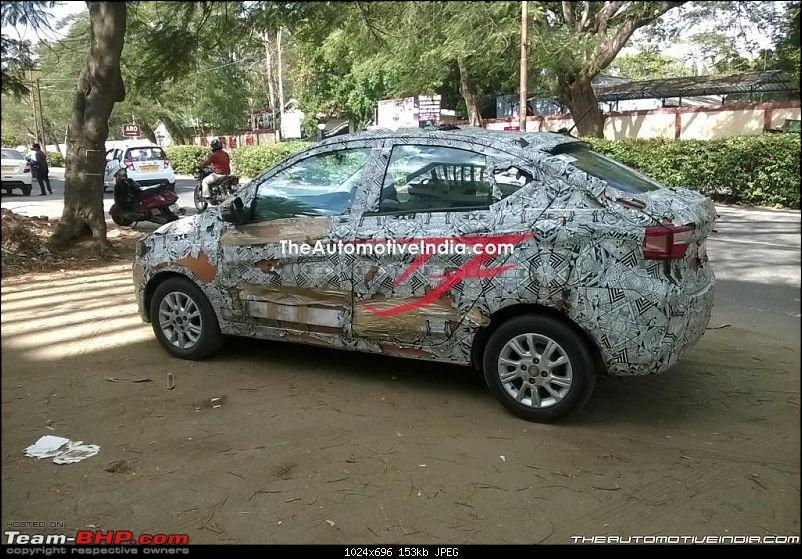 Tata Tiago-based compact sedan. EDIT: Tigor launched at Rs 4.7 lakhs-tatakite54.jpg