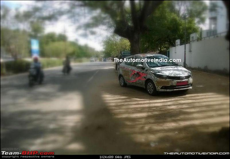Tata Tiago-based compact sedan. EDIT: Tigor launched at Rs 4.7 lakhs-tatakite53.jpg