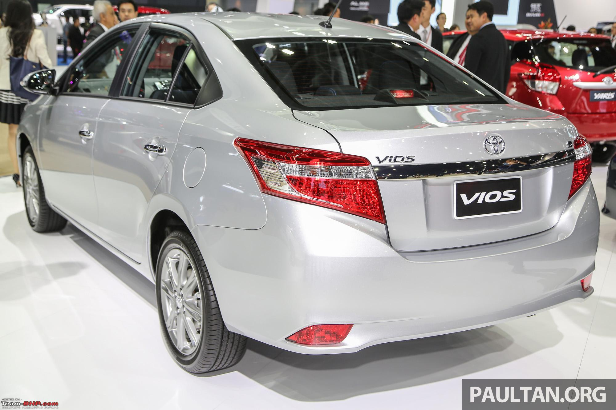 Scoop! Toyota Vios caught testing in Bangalore Edit: it's the Yaris