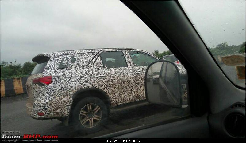 Scoop! Next-gen Toyota Fortuner spotted. EDIT: Preview on page 14-1475662777446.jpg