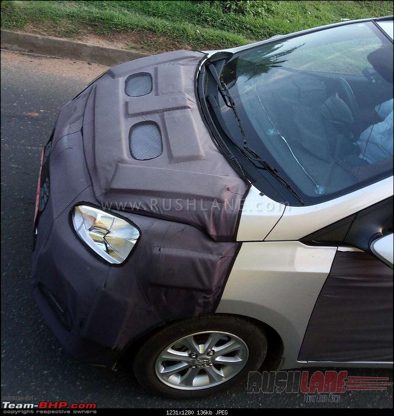 Hyundai Grand i10 Facelift. EDIT: Now launched (page 8)-2017hyundaigrandi10spiedindia8.jpg