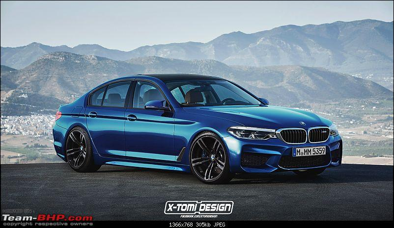 The next-gen BMW 5-Series (G30). EDIT: Launched at Rs. 49.90 lakh-2018bmwm5.jpg
