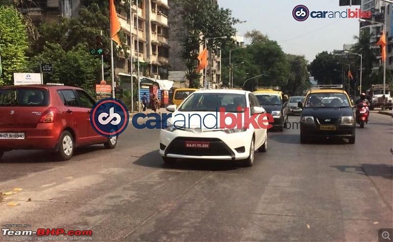 Scoop! Toyota Vios caught testing in Bangalore Edit: it's the Yaris Ativ-.jpg