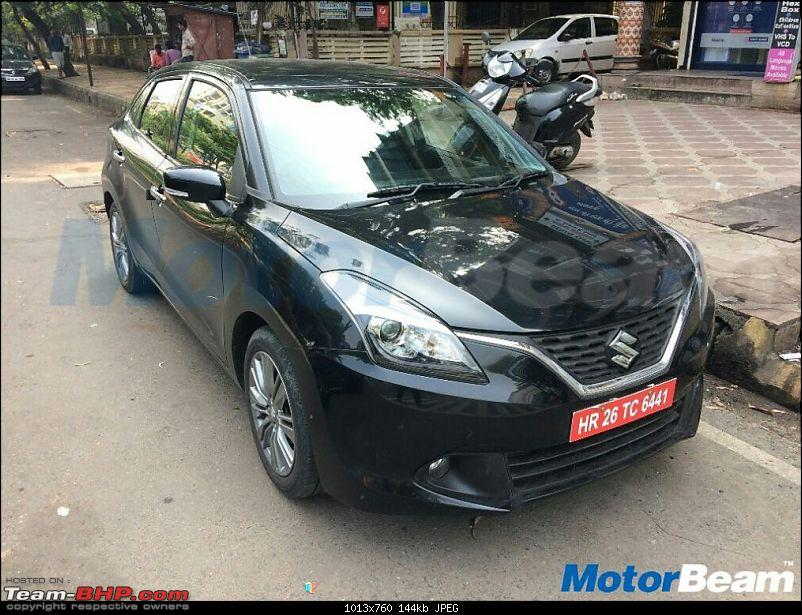 Rumour: Maruti Baleno Petrol SHVS in the works-marutibalenodualjetfront.jpg