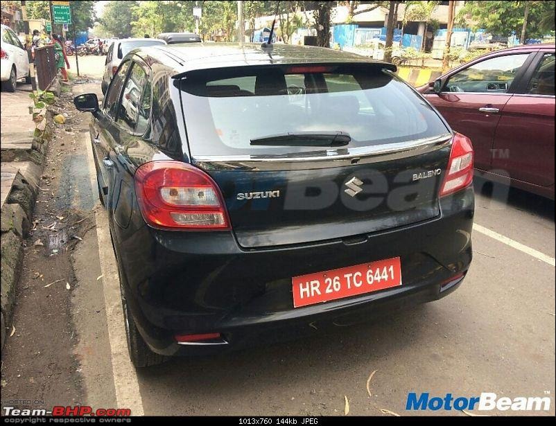 Rumour: Maruti Baleno Petrol SHVS in the works-marutibalenodualjettaillamps.jpg
