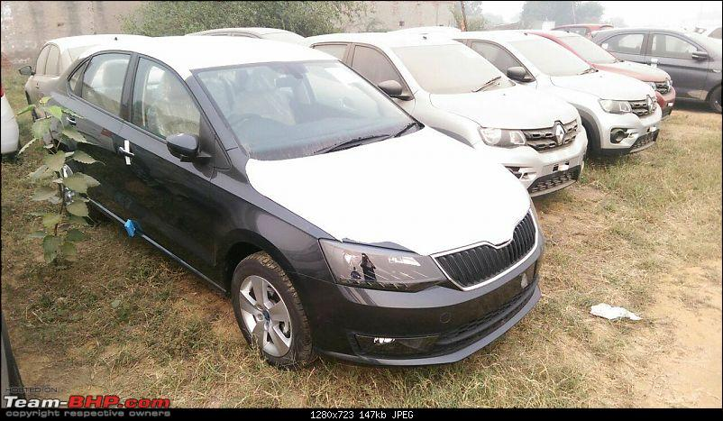 Skoda Rapid facelift caught testing. EDIT: Launched at Rs. 8.35 lakhs-14853200_1237007779655527_3359030352983749551_o.jpg