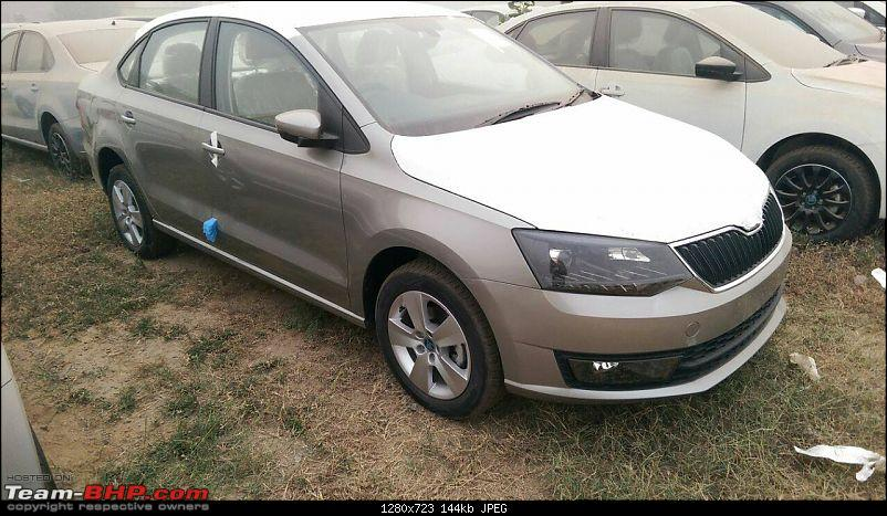 Skoda Rapid facelift caught testing. EDIT: Launched at Rs. 8.35 lakhs-14889823_1237007932988845_2975371331808229175_o.jpg